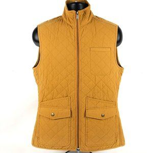 Duluth Trading Co Quilted Full Zip Fishing Vest
